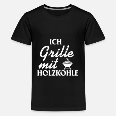 Charcoal Lighter Barbecue Charcoal Charcoal Grill Grillmeister Grill - Teenage Premium T-Shirt