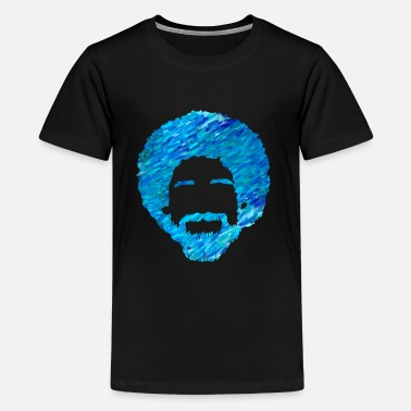 Ross Artist Ross | Painter Bob Silhouette Artistic - Teenage Premium T-Shirt