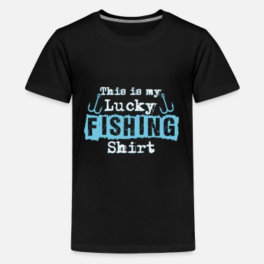 Fischer Hook Fischer saying | Angler fishing fishing fish hook - Teenage Premium T-Shirt