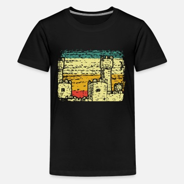 Medieval Castle medieval - Teenage Premium T-Shirt