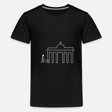 Tor Brandenburger Tor - Premium T-shirt teenager