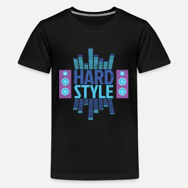 Hardstyle equalizer - Teenage Premium T-Shirt
