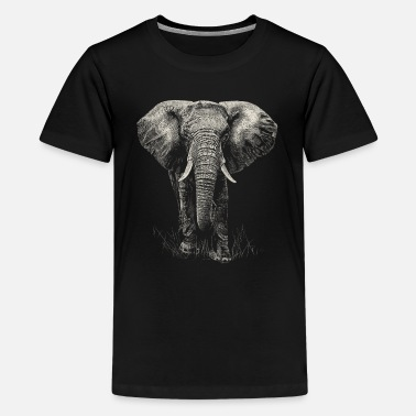Elefant Elefant - Teenager Premium T-Shirt