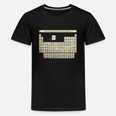 Periodic Table Periodic Table Shirt Vintage - Teenage Premium T-Shirt