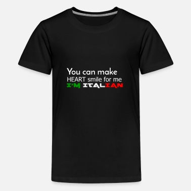 Italiaans - Teenager premium T-shirt