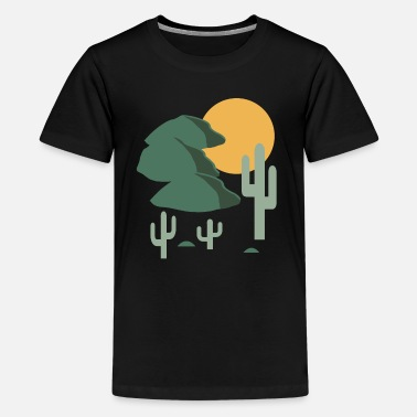 Landschaft Landschaft - Teenager Premium T-Shirt