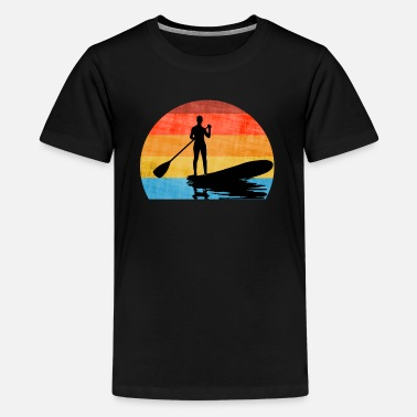 Stand Up Paddle Stand Up PAddling SUP - Teenage Premium T-Shirt