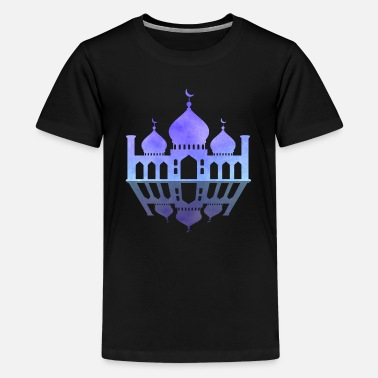 Mosque Islam Muslim religion - Teenage Premium T-Shirt