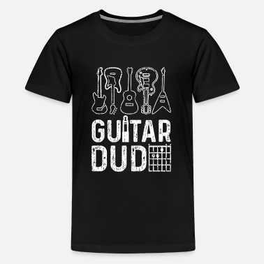 Guitar Dude Guitar Dude - guitar - Teenage Premium T-Shirt
