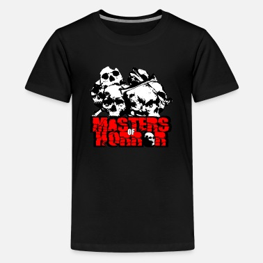 meesters van horror - Teenager premium T-shirt