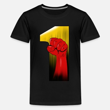 Punch 1 punch - Teenager Premium T-Shirt