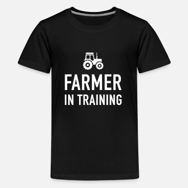 Training Funny Gift For Farm Kids - Teenage Premium T-Shirt