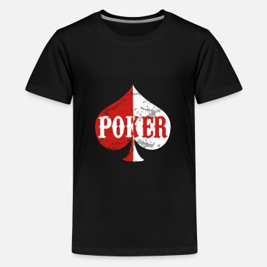 Holdem Poker Holdem Texas - Premium T-shirt teenager