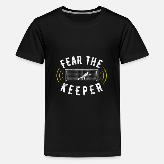 Gift Idea T-Shirts - goalkeeper - Teenage Premium T-Shirt black