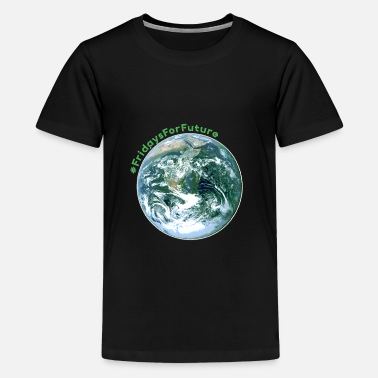Fridays Fridays For Future Stop Klima Co2 Protest Geschenk - Teenager Premium T-Shirt