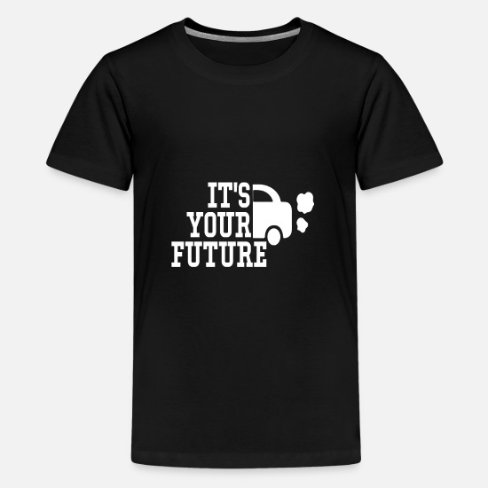 Earth T-Shirts - Environment, Climate Protection | design - Teenage Premium T-Shirt black