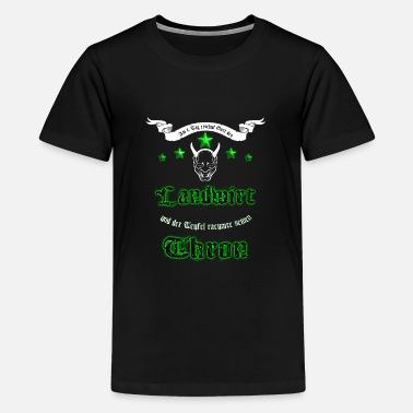 Farmer - Teenage Premium T-Shirt