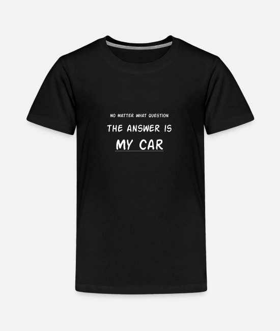 Auto T-Shirts - Autos - Teenager Premium T-Shirt Schwarz