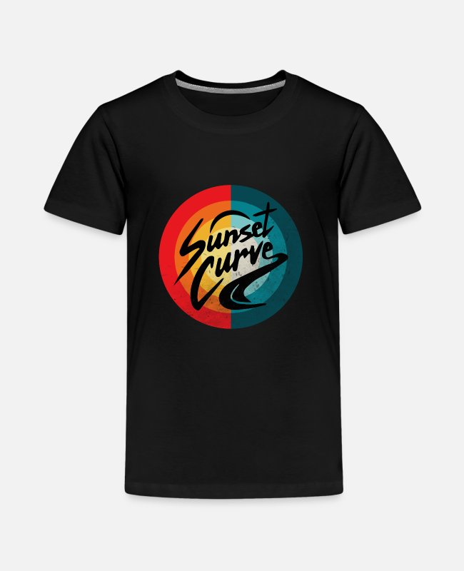 BBQ T-shirts - Vintage Julie Phantoms Sunset - Premium T-shirt teenager sort