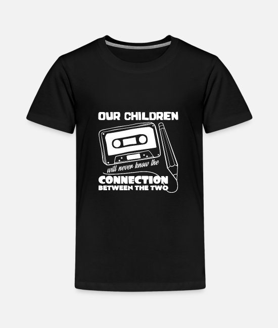 Kassette T-Shirts - Tape - Teenager Premium T-Shirt Schwarz