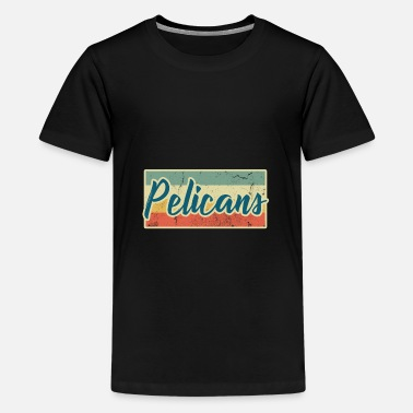 Water Bird Pelicans pelican bird water bird animal gift - Teenage Premium T-Shirt