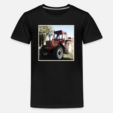 Tractor 2 cd-hoes - Teenager premium T-shirt