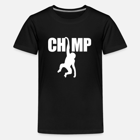 Gorilla T-shirts - chimpanse - Premium T-shirt teenager sort