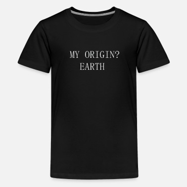 Earth - Teenager Premium T-Shirt