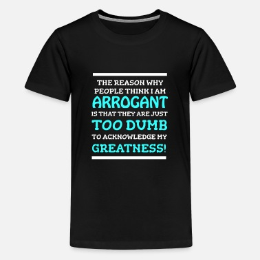Dumb Feelin Good Dumb Tshirt Design FOR DUMB - Premium T-shirt teenager
