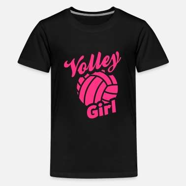 Volley volley girl - Teenage Premium T-Shirt