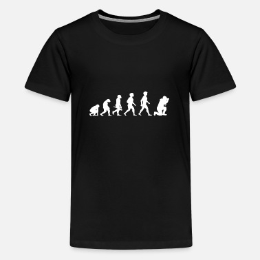 Camera Evolution Photograph Photographer Camera Camera - Teenage Premium T-Shirt