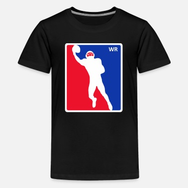Wide Receiver Wide receiver color - Teenage Premium T-Shirt