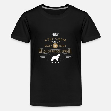 Rassehund Welsh Springer Spaniel Shirt - Teenager Premium T-Shirt
