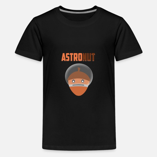 Spaceman T-shirts - Astronut - Premium T-shirt teenager sort