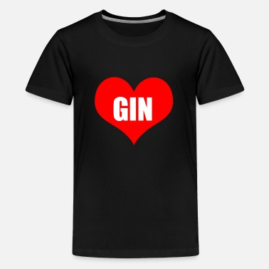 Gin gin - Teenager premium T-shirt