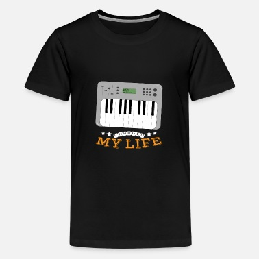 Synthesizer Synthesizer Changed My Life - Teenage Premium T-Shirt