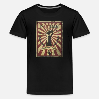Partisans Partisan - Teenage Premium T-Shirt