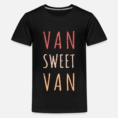 Van Life Adventure Camper - Teenage Premium T-Shirt