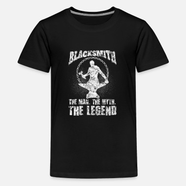 The Smiths Blacksmith The Man Myth Legend - Teenager Premium T-Shirt