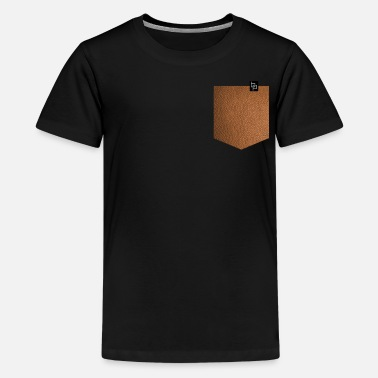 Leather leather - Teenage Premium T-Shirt