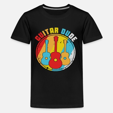 Guitar Dude Guitar dude - Teenage Premium T-Shirt
