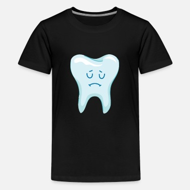 Tand - tænder - karies - Premium T-shirt teenager
