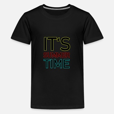 Daylight Saving Time daylight saving time - Teenage Premium T-Shirt