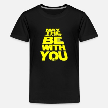May the singletrack be with you - the original! - Teenage Premium T-Shirt