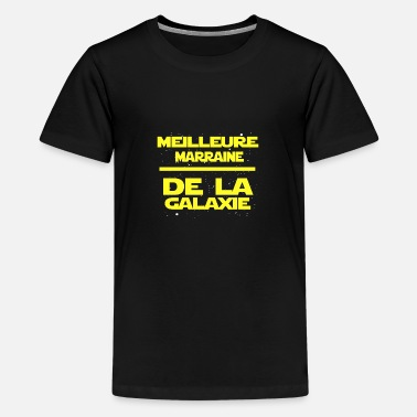 Galaxie marraine - T-shirt premium Ado