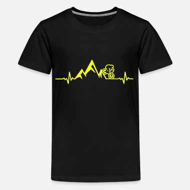 Bicycle Heartbeat Bicycle heartbeat - Teenage Premium T-Shirt