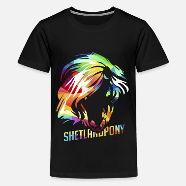 Pony Shetland pony - Teenage Premium T-Shirt