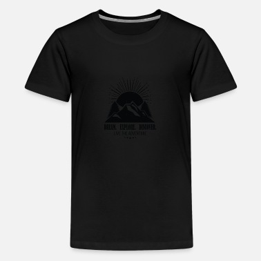 Mountains Mountain - Teenage Premium T-Shirt