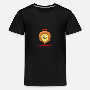 Leadership Leadership Lion! - T-shirt premium Ado