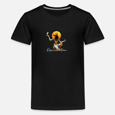 Reincarnation Anubis Design - Teenager Premium T-Shirt